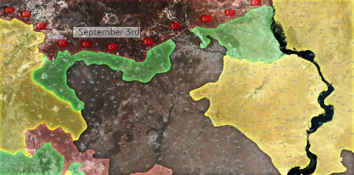 Two linking operations in northern Syria