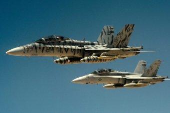 US F18 Super Hornet