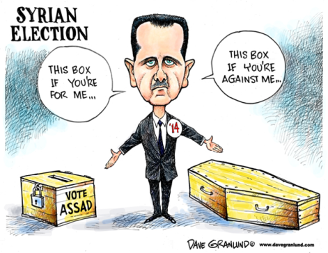 Assad election
