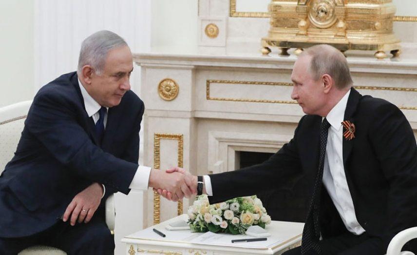 Putin Netanyahu 1