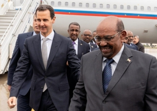 Sudanese tyrant Bashir becomes first Arab leader to visit Assad ...