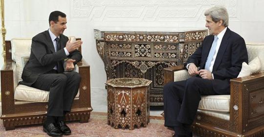 Assad and Kerry